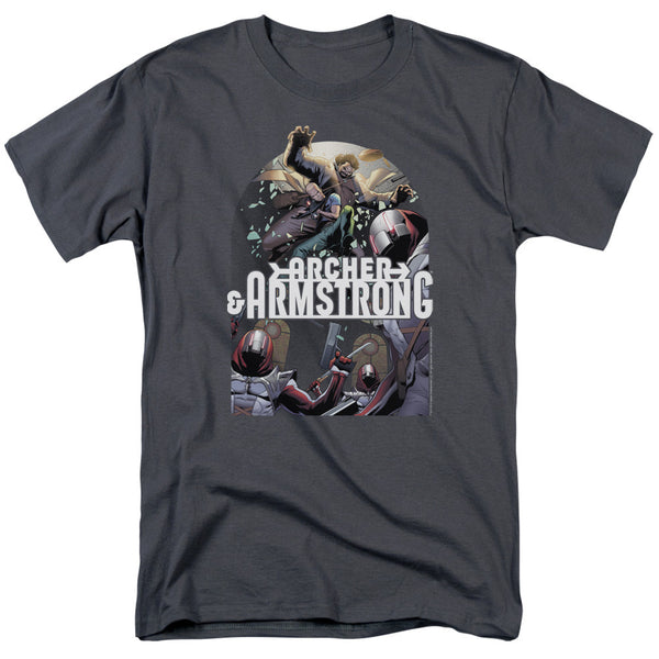 Archer & Armstrong: Dropping In T-Shirt - NerdArmor.com