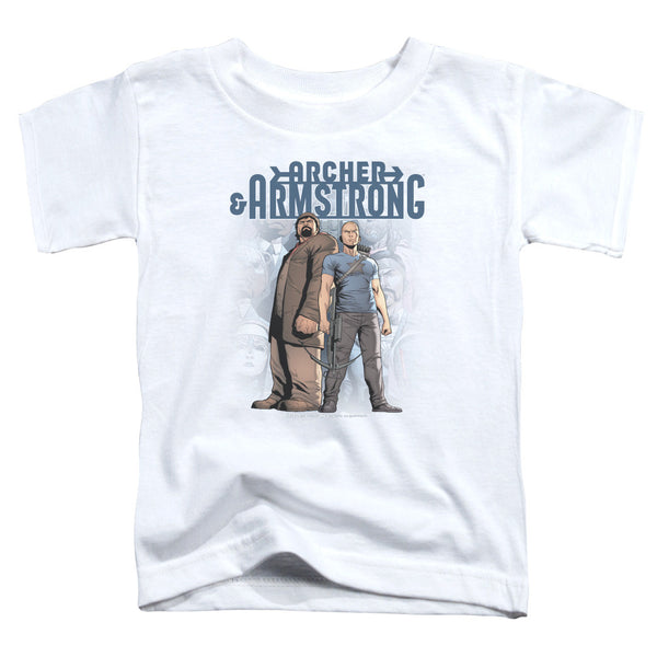 Archer & Armstrong: Two Against All Toddler T-Shirt - NerdArmor.com