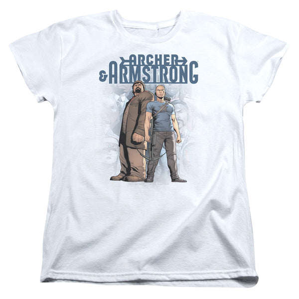 Archer & Armstrong: Two Against All Women's T-Shirt - NerdArmor.com