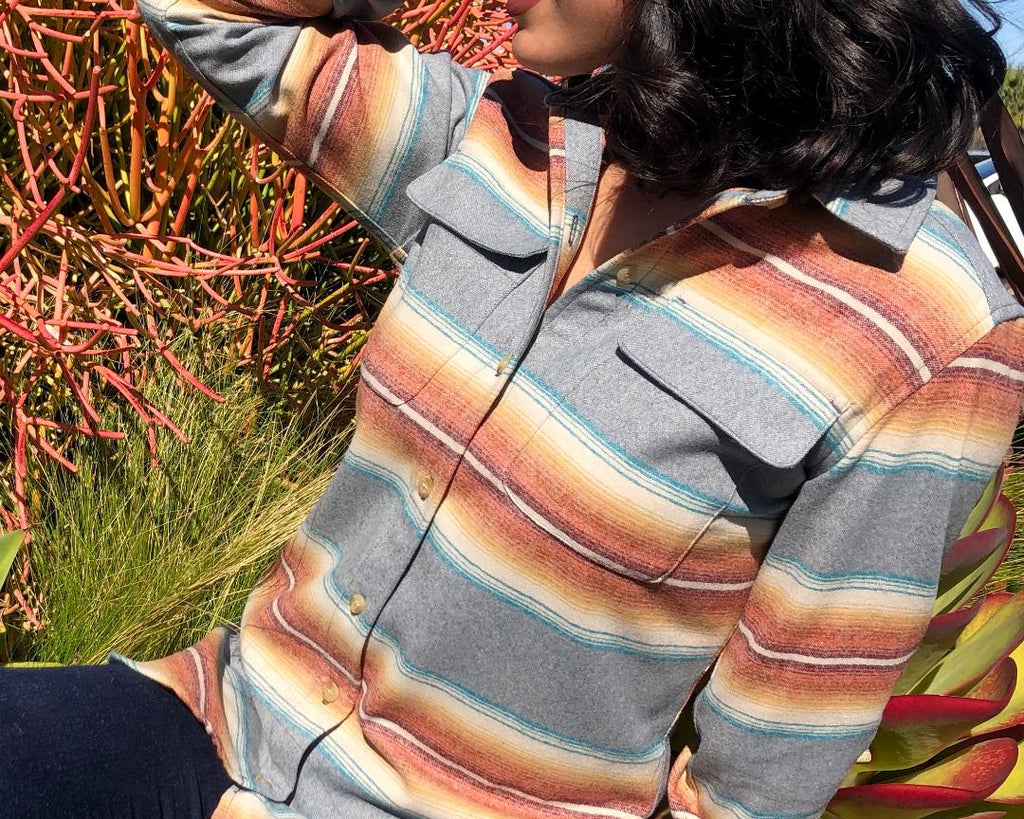 Spring 2020 Womens Striped Board Shirt