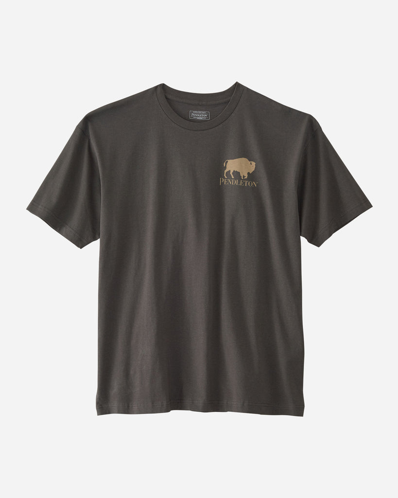Sierra Ridge Bison Graphic T - Black