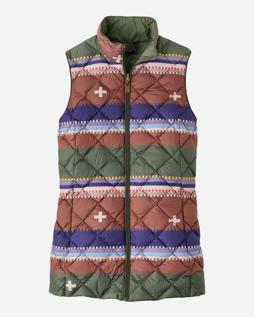 Bridger Stripe Reversible Vest