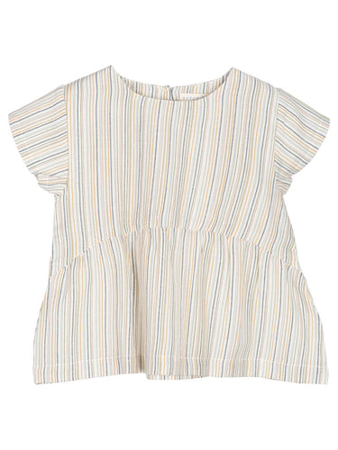 MULTISTRIPE BLOUSE