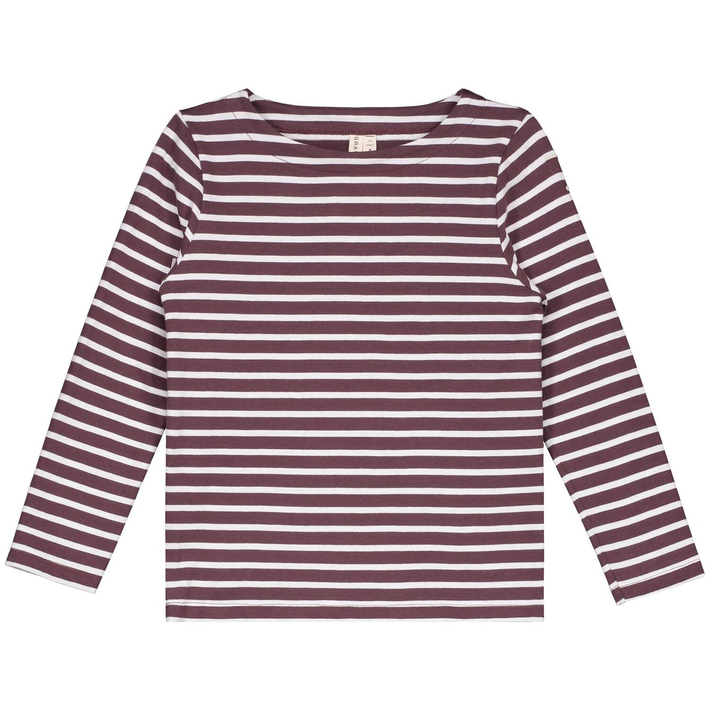 L/S STRIPED TEE (NEW FIT)