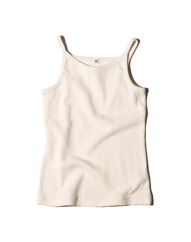 GIRLS TANK TOP POINTELLE