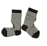 STRIPED SOCKS BLACK TOE