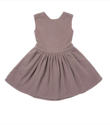 PINAFORE GAUZE DRESS