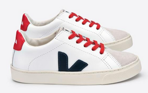 ESPLAR LACE LEATHER WHITE NAUTICO PEKIN