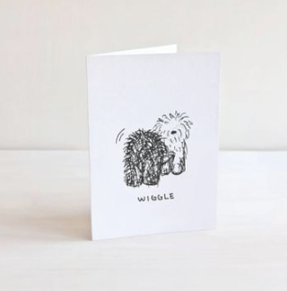 OLD ENGLISH SHEEPDOG GIFT CARD