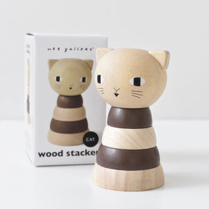 WOOD STACKER CAT