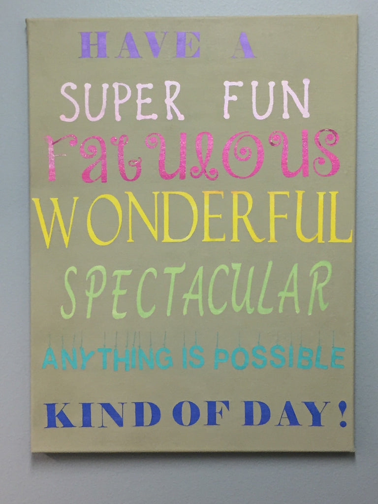 Classroom decor, Super fun sign  Wall Decor Children's room