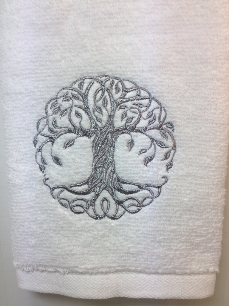 Tree of Life Hand Towel – Just Because - XOXO