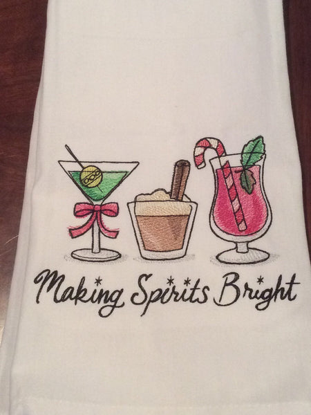 Holiday Spirit Bar Towel