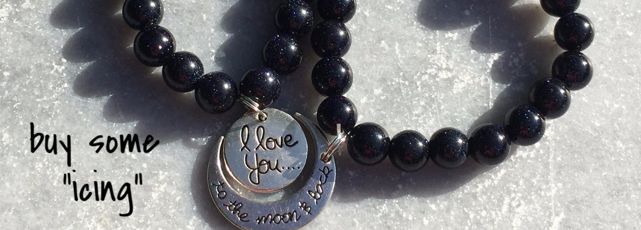 To the Moon and Back Bracelet Set