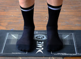 Lake Cycling Socks Black/White