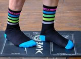 Lake Cycling Socks Stripe/Multi-Color