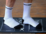 Lake Cycling Socks White/Black