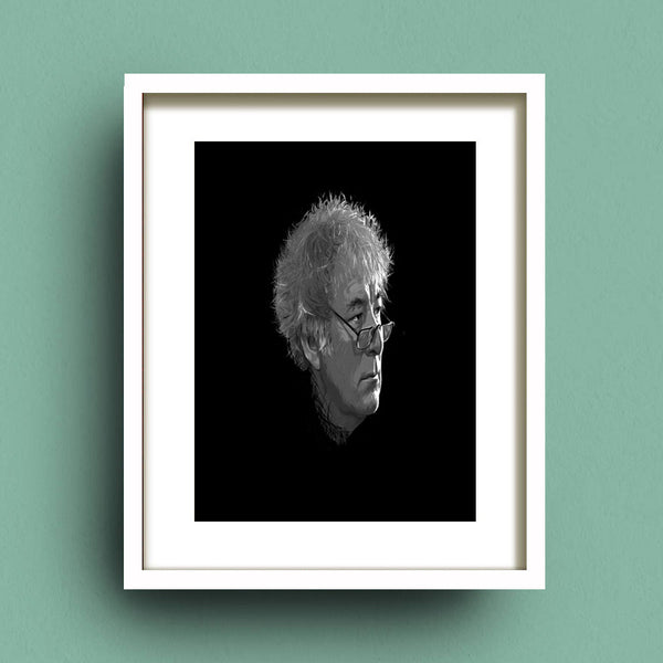 Portrait of Seamus Heaney by Francis Leavey