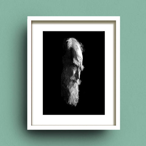 Portrait of George Bernard Shaw by Francis Leavey