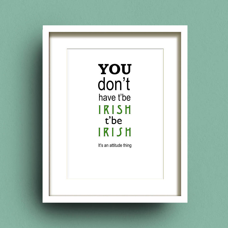 T'Be Irish by Francis Leavey