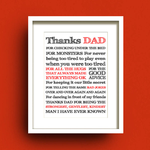 Thanks Dad by Francis Leavey