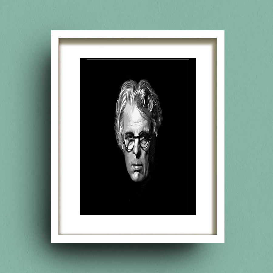 Portrait of William Butler Yeats by Francis Leavey