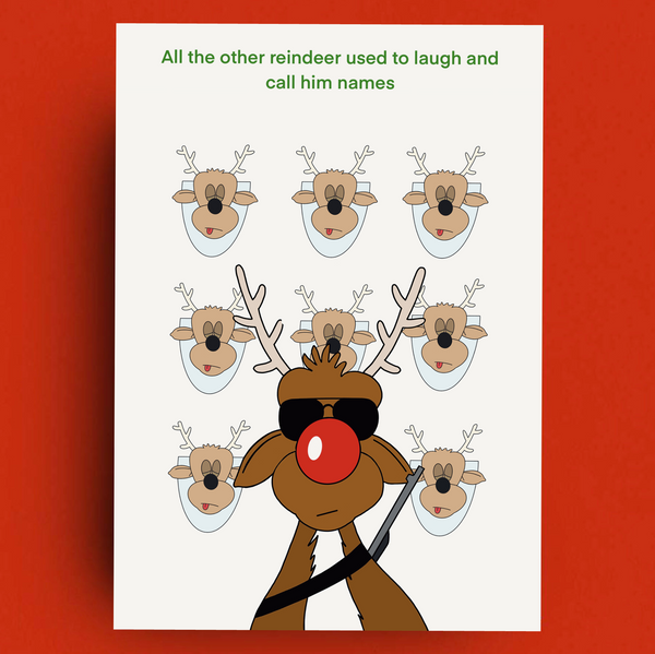 All the other reindeer