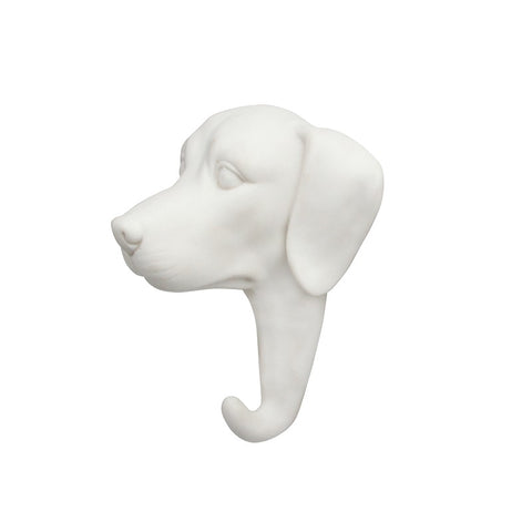 Porcelain Dog Hook