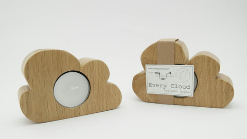 Every Cloud Tea Light Holder