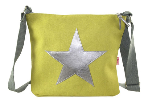 Large Star Messenger Bag