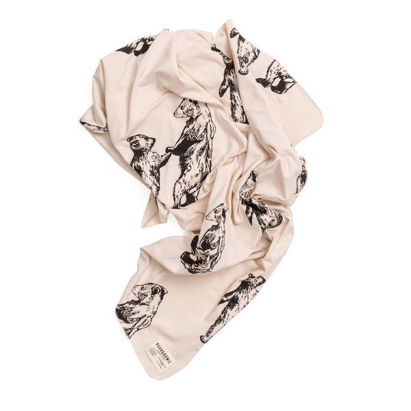 Baby Wrap With Bear Motif