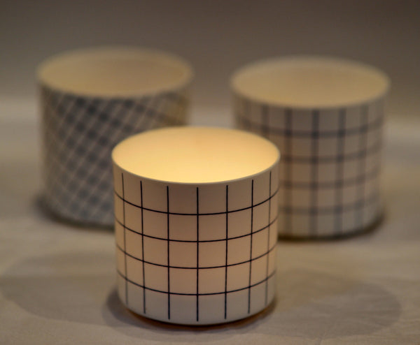 Graphic Print Tealight Holders