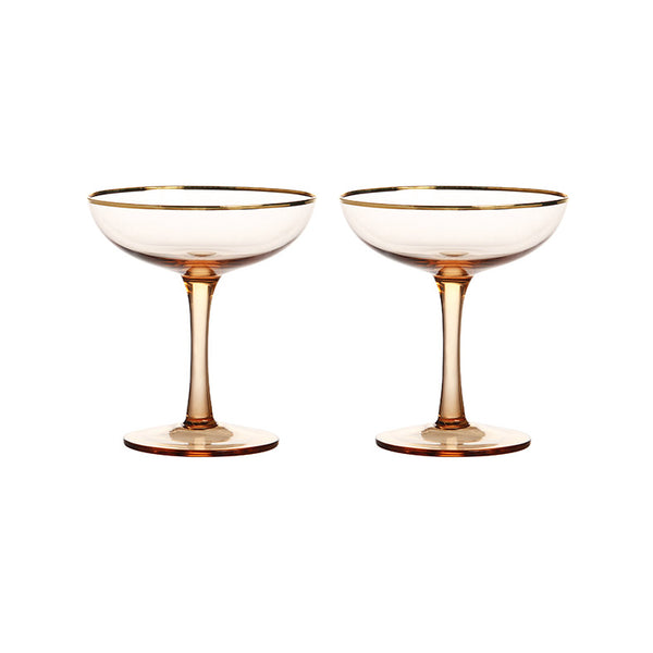 Pair of Champagne Coupes