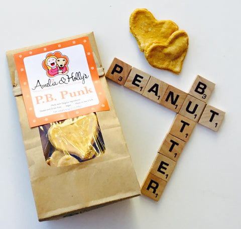 Amelia and Holly's P.B. Punk Dog Treats - Kanine Capital Online Farmer's Market for Dogs