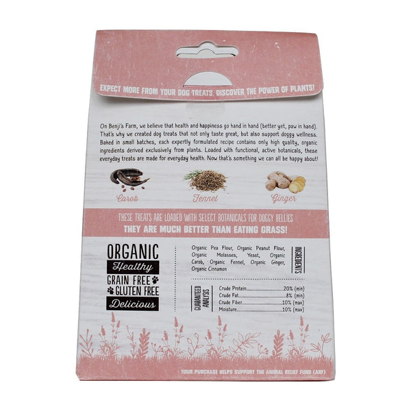 Benji's Farm TUMMY Dog Treats - Kanine Capital Online Farmer's Market for Dogs