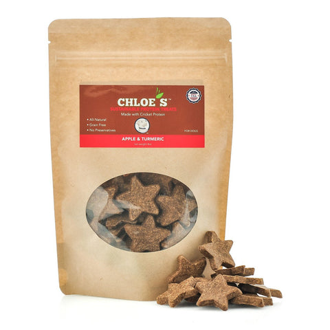Chloe's Treats Apple and Turmeric Dog Treats - Kanine Capital Online Farmer's Market for Dogs