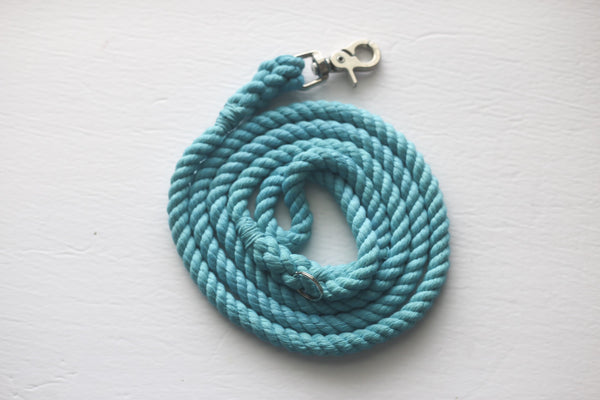 Kai's Ruff Wear Aqua Rope Dog Leash