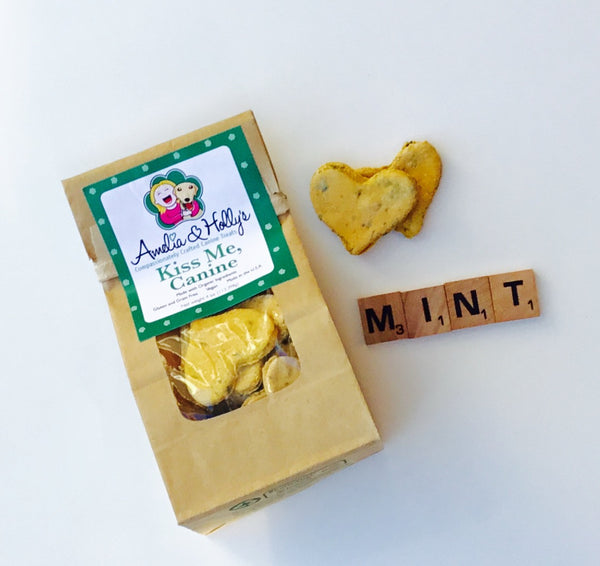 Amelia and Holly's Kiss Me Canine Dog Treats - Kanine Capital Online Farmer's Market for Dogs