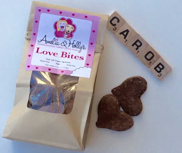 Amelia and Holly's Love Bites Dog Treats - Kanine Capital Online Farmer's Market for Dogs