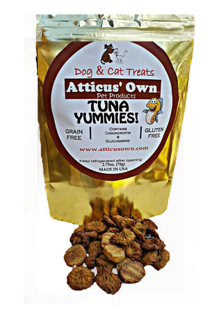 Atticus' Own Tuna Yummies Dog Treats