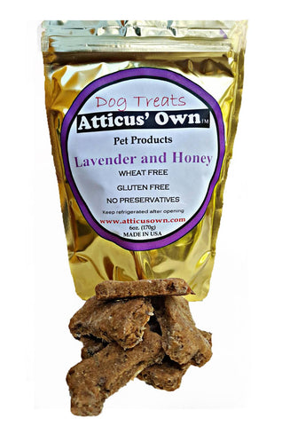 Atticus' Own Lavender and Honey Dog Treats