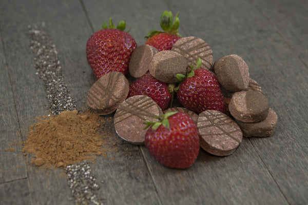 PizzaPups Carob Covered Strawberry Dog Treats - Kanine Capital Online Farmer's Market for Dogs