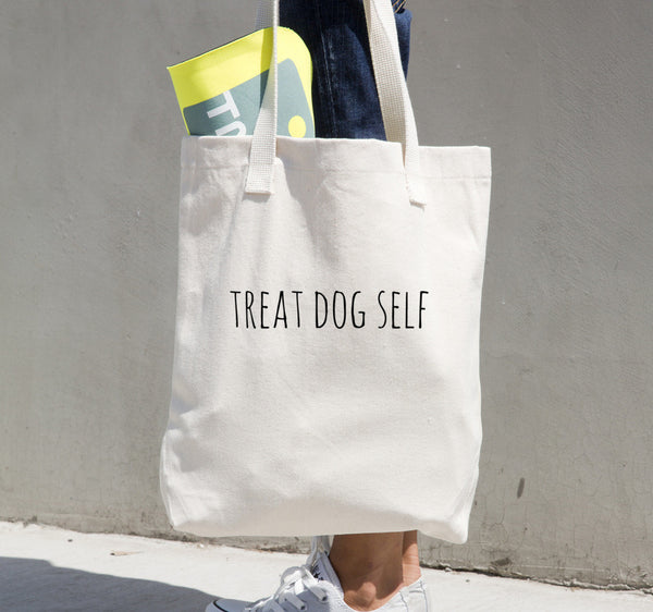 Treat Dog Self Tote bag - Kanine Capital Online Farmer's Market for Dogs