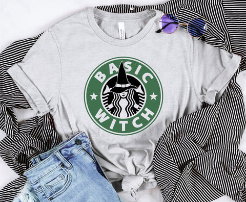 Basic Witch Coffee Tee