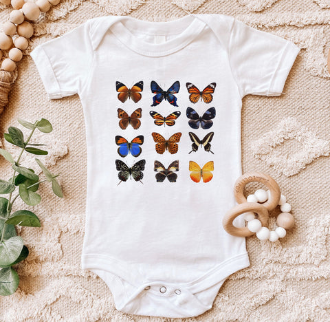 Butterflies Kids Tee/Bodysuit