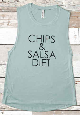 Chips and Salsa Diet Tank