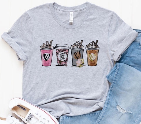 Coffee Clipart Tee