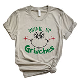 Drink Up Grinches Christmas Tee