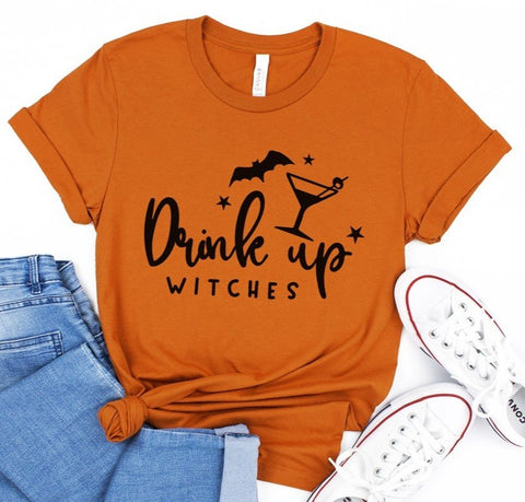 Drink Up Witches Tee