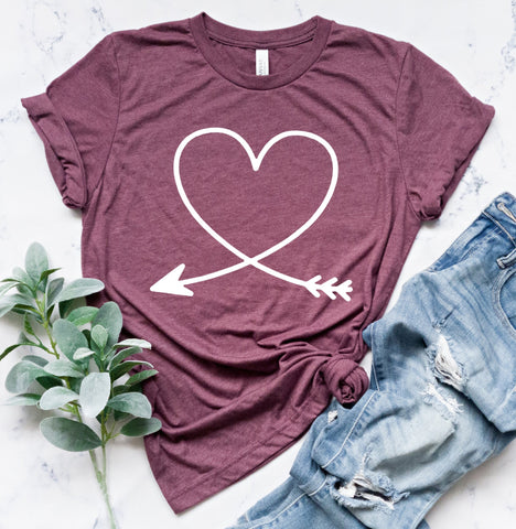 Heart Arrow Tee